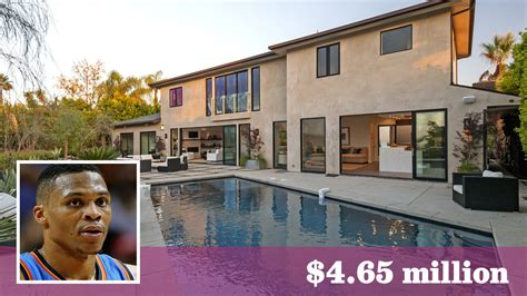 NBA star Russell Westbrook buys Beverly Crest home from ... Russell Westbrook House