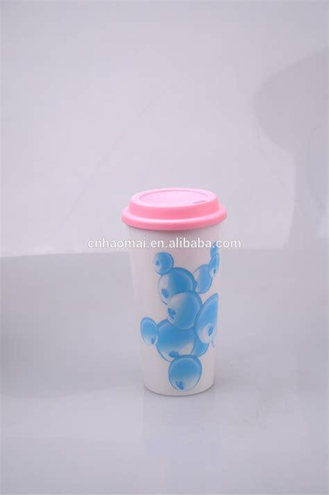 Cangkir Pembuat Kopi Coffee Dripper Bahan Plastik 450 ml dinding plastik ganda cangkir kopi dengan silicion