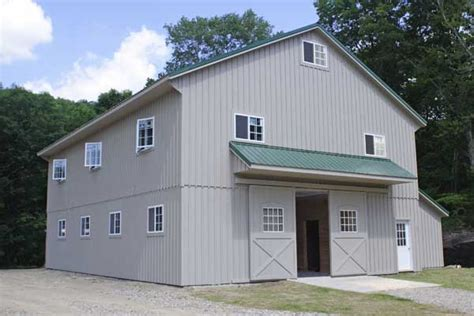 two story pole barn two story modular barn 36 x 52