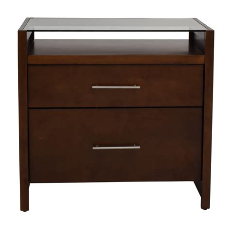 crate and barrel desk 77 off crate and barrel crate barrel brown desk with