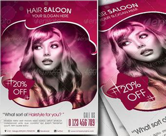 free hair salon posters and banners free beauty salon flyer psd posters