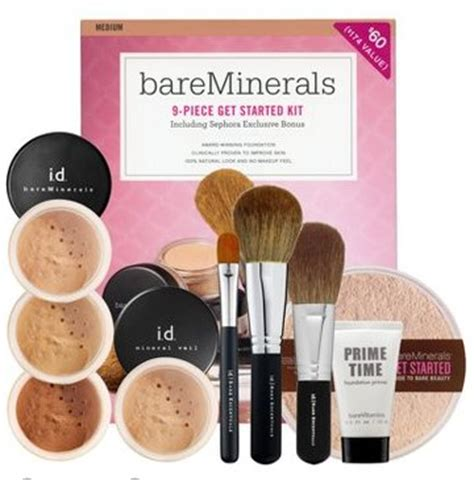 Bare Minerals Starter Kit save 20 on bare escentuals starter kits at sephora