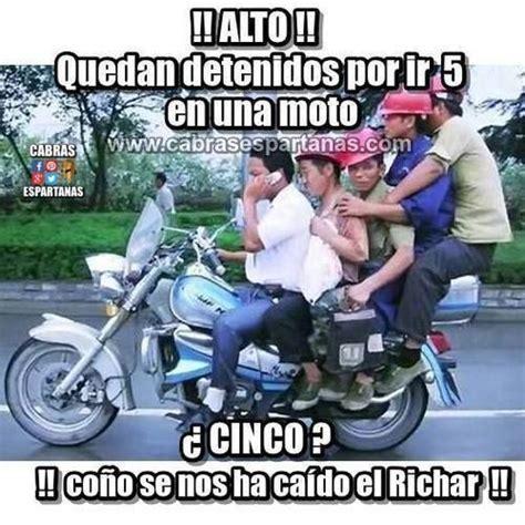 imagenes graciosas en moto cinco en una moto 161 161 alto polic 237 a im 225 genes y memes