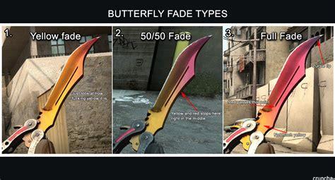 csgo knife pattern fade steam community guide cs go knife fade percentage