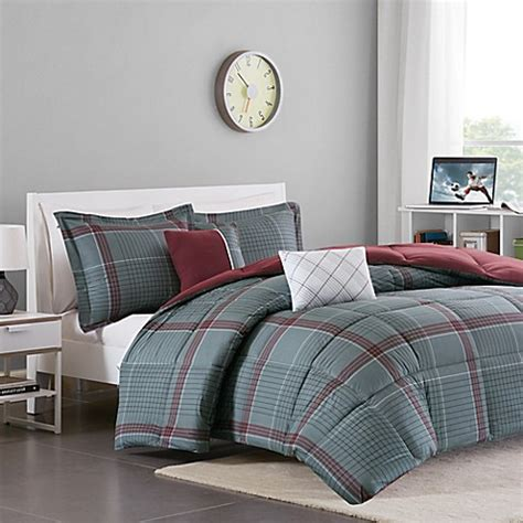 cozy soft max 4 5 piece reversible comforter set bed