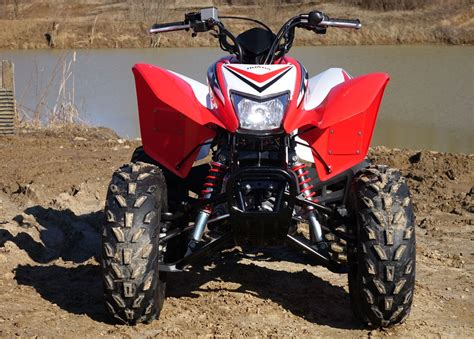 Honda Trx250x by 2016 Honda Trx250x Review Atv