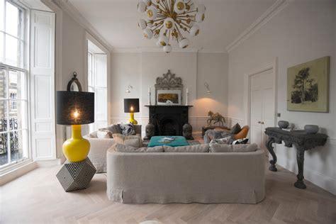 Livingroom Edinburgh by Townhouse New Town Edinburgh Transitional Living