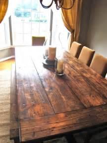 farmhouse dining table diy
