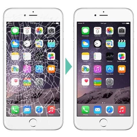6 iphone screen replacement apple iphone 6 lcd digitizer cracked broken screen replacement repair service ebay
