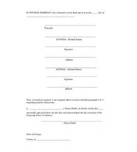 Free Power Of Attorney Template by Power Of Attorney Template 14 Free Word Excel Pdf
