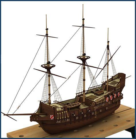 sailboat on spanish tutorial maqueta gale 243 n espa 241 ol model ships boats in