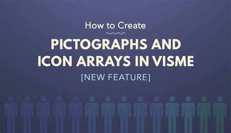 icon design creating pictograms with purpose how to use visme s new pictograph maker to visualize