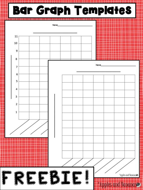 create free graph free bar graph templates with and without a scale for a