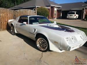 Year One Pontiac Trans Am 79 Trans Am Pearl White Burgundy Interior 17inch Year One