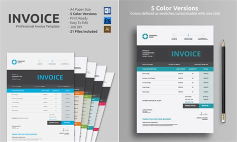 15 Simple Invoice Templates Made For Microsoft Word Microsoft Word Doc Templates
