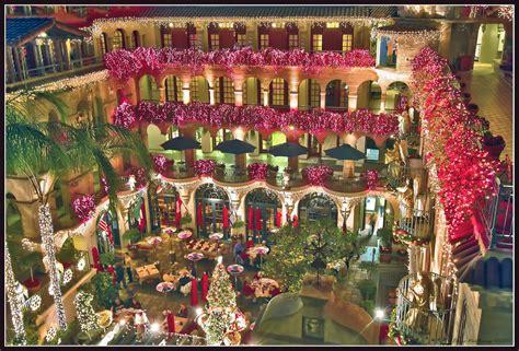 festival of lights in mission inn hotel corona californi