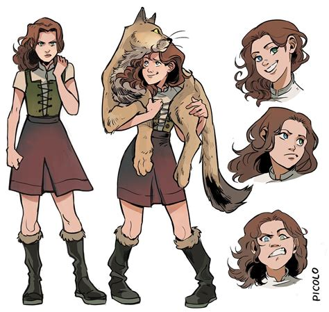 libro truthwitch the witchlands series i was commissioned by harpercollinsus to do some character designs for the three dark crowns