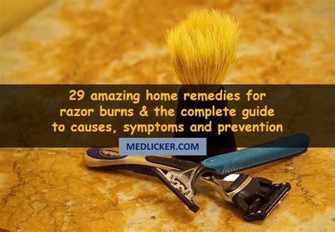 razor burns causes symptoms treatment and prevention