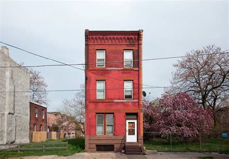 row home heartbreaking photos of lonely rowhouses citylab