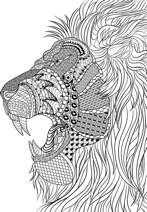 coloring pages for adults difficult animals coloring pages for adults difficult animals 4 coloring