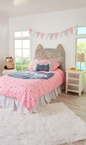 justice bedding tween girls bedding bed sets cute pillows justice