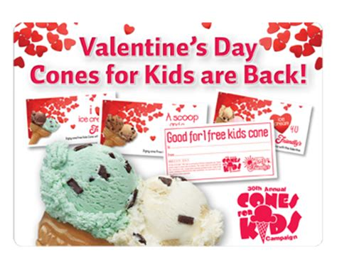whats a gift for a on valentines day friendly s five kid s cones coupons for 1