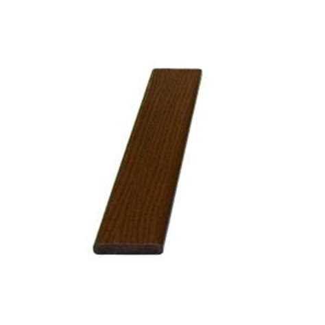 1 in x 4 in x 20 ft teak brown bend a board 100059386