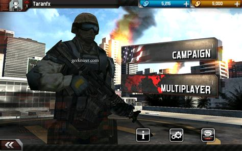 mc3 apk modern combat 3 android review gameplay