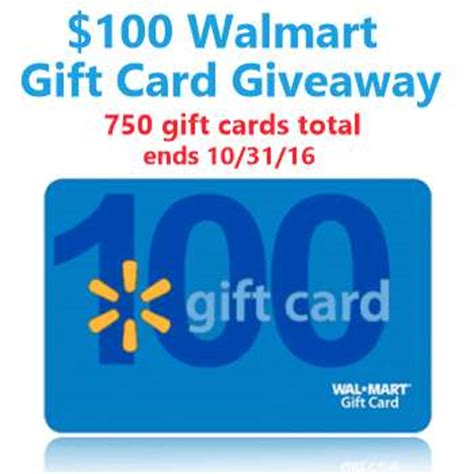 Walmart 1000 00 Gift Card Giveaway - contests archives page 2 of 3 freebies in your mail