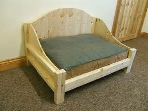 Wood Frame Pet Bed Robin Sparkles Luxury Beds Article