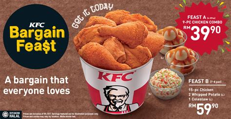 Sale Mainan Family Meal Set kfc bargain feast food beverages sale in malaysia