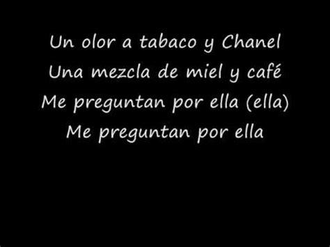 y lyrics bacilos tabaco y channel lyrics