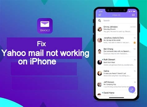 yahoo email not updating on iphone yahoo mail not working on iphone ipad after ios 12 update