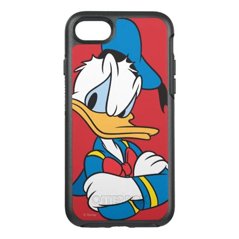 Donald Duck Iphone 7 7 Plus Casing Cover Hardcase Donald Duck Arms Crossed Otterbox Symmetry Iphone 7