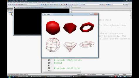 opengl tutorial keyboard tutorial opengl parte 1 doovi