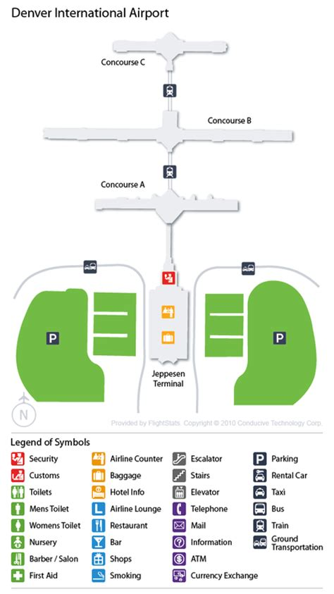 denver airport den guide fly  denver  flight center