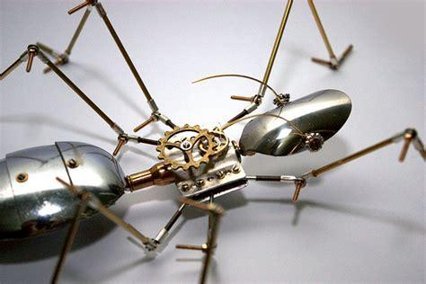 membuat robot capung steunk arthrobots mldspot