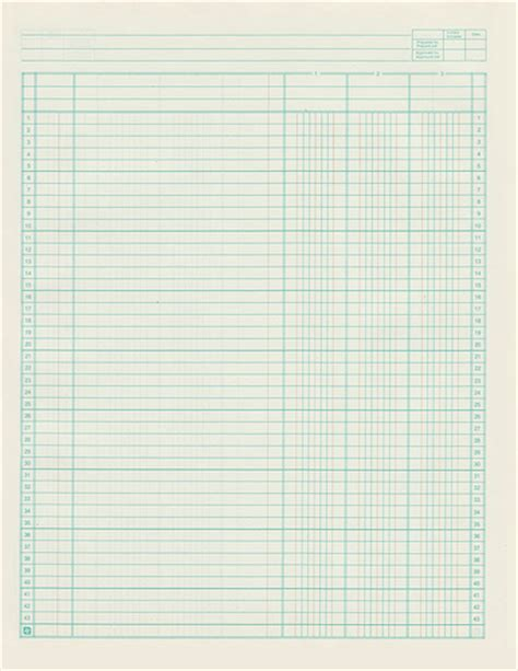printable blank ledger pages