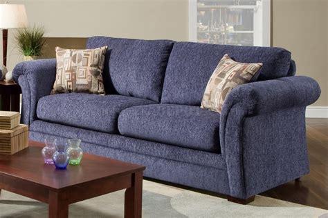blue sofa set living room plush blue fabric casual modern living room sofa