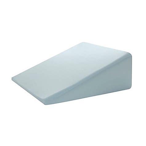 foam wedge pillow bed bath beyond broyhill gel foam adjustable wedge pillow in blue bed bath beyond