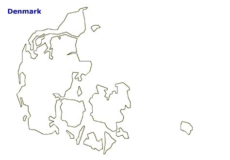 denmark map coloring page map of denmark terrain area and outline maps of denmark