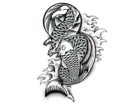 dragon fish tattoo designs 24 fish designs