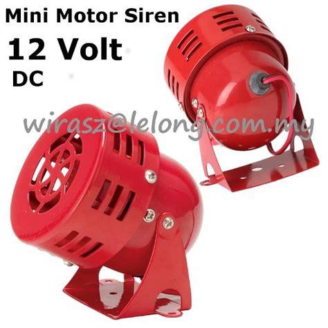 Promo Acc Motor Klakson Motor Polisi Sirene 3 Suara 12v dc mini motor siren loud horn so end 7 12 2019 5 15 pm