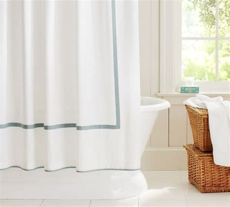 shower curtain pottery barn morgan shower curtain pottery barn