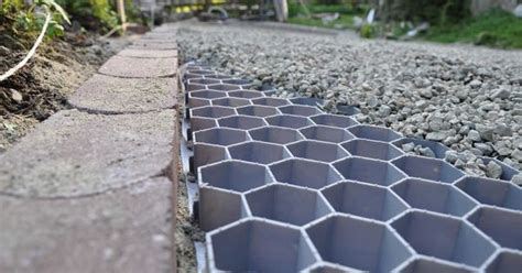 green driveway prevents rainwater runoff from contributing to water pollution outdoor oasis
