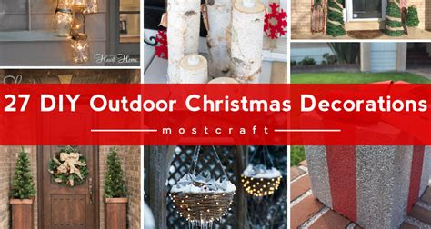 do it yourself outdoor christmas decorations christmas decore