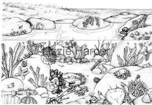 rockpool lizzie harper illustration 166 botanical