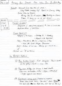Sermon Outline On 2 6 1 7 by The Gospel According To Jon Sermon Outline Advent 3b 1 6 8 19 28