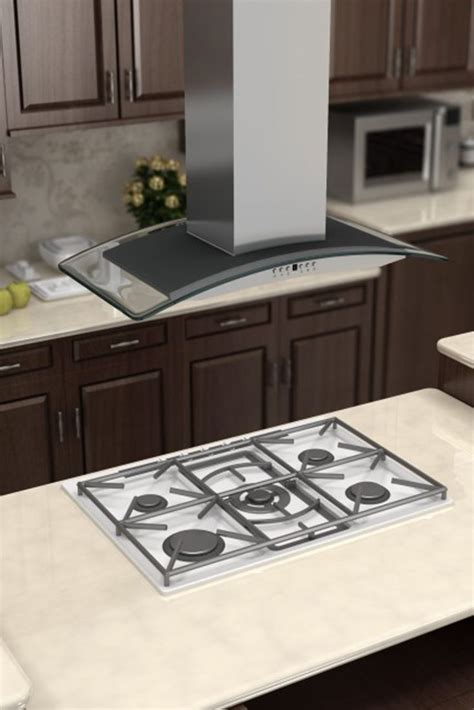 duparquet range company stainless steel kitchen island at 14 best images about glass range hoods on pinterest wall