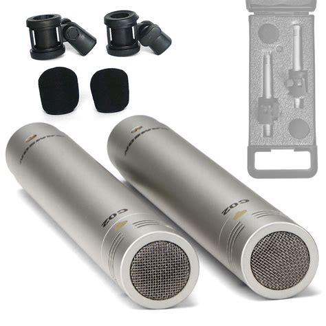 Samson C02 Pencil Condenser Microphones samson c02 2pack condenser pencil microphones mic clip